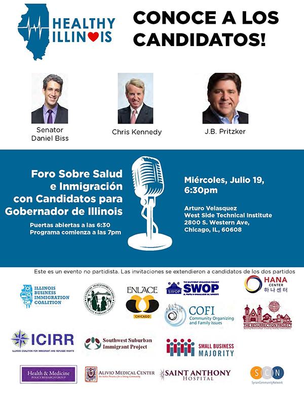 Gubernatorial Canditates Forum (es)
